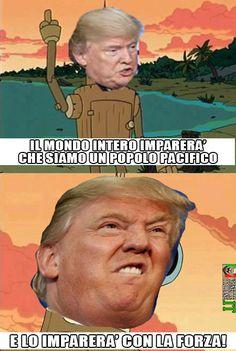 Trump e pacifismo