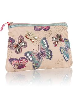 Aurelia Butterfly Clutch Purse