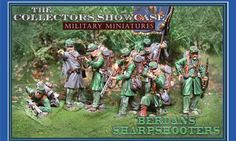 Civil War Union Berdan's Sharpshooters complete set - Made by The Collectors Showcase Military Miniatures and Models. Factory made, hand assembled, painted and boxed in a padded decorative box. Excellent gift for the enthusiast.