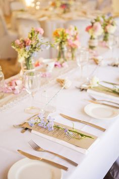 Gorgeous floral styling for a vintage wedding on the Sunshine Coast, Australia. #wedding #weddings #event #events #flowers #floral #floralstyling #vintage #tablescape #centrepiece #centerpiece #pretty #pink #mauve #peach #yellow #blue #Australia #Australian
