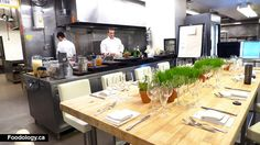 Image result for chef's table in kitchen