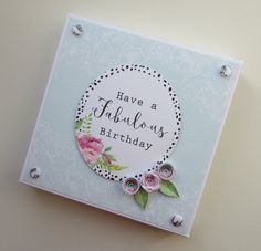 Box made by Kath Woods using the Heritage Rose collection. Heritage Rose, Craftwork Cards, Card Making Tips, Fabulous Birthday, Gift Wrapping, Wrapping Ideas, Altenew, Craft Work, Flower Cards
