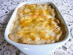 SPLENDID LOW-CARBING BY JENNIFER ELOFF: DELUXE CHICKEN POT PIE WITH FLAKY PIE CRUST- You can definitely use leftover turkey as well. Visit us for more lovely recipes at: https://www.facebook.com/LowCarbingAmongFriends