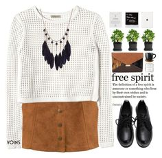 """Yoins VI"" by amethyst0818 ❤ liked on Polyvore featuring Rebecca Taylor, Dogeared, Herbivore Botanicals, women's clothing, women's fashion, women, female, woman, misses and juniors"