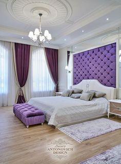 Simple European Style Bedroom