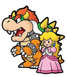 #ThrowbackThursday: Mario and Princess Peach Love, Nintendo, Peach, Mario, Wii, Super Mario World. Super Mario Bros., Bowser, love, relationships.