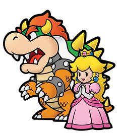 #ThrowbackThursday: Mario and Princess Peach Love, Nintendo, Peach, Mario, Wii, Super Mario World. Super Mario Bros., Bowser, love, relationships.