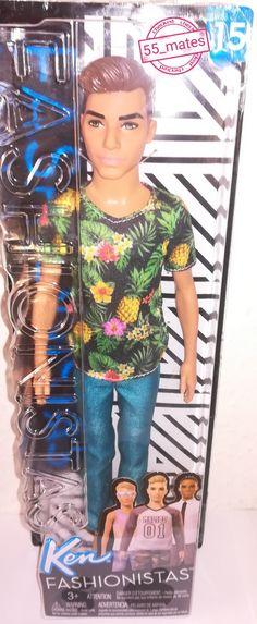 en Fashionistas Doll 2 Tropical Vibes-Slim 15 (2017)