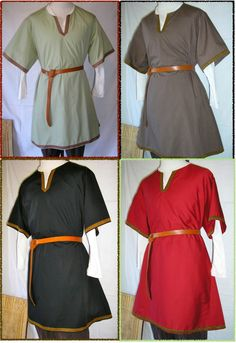 Medieval Tunic with Celtic knot trim. $39.95, via Etsy.