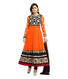 Loved it: Ajay And Vijay Orange Embroidered Pure Georgette Semi Stitched Anarkali Salwar Suit, http://www.snapdeal.com/product/ajay-and-vijay-orange-embroidered/2090756341