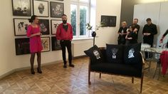 "Opening exhibition ,,Mens Day""in Olympia Gallery, Cracov"