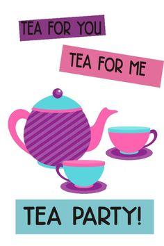 A Dress up tea birth