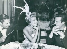 EVGENIA GL AMAZING MODERN TINA ONASSIS Vintage Photo Of These Are Modern Great Loves. Tina Livanos With A Friend, Mr. H
