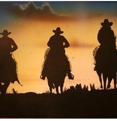 Cowboy Love, Silhouette, Art, Art Background, Kunst, Performing Arts, Art Education Resources, Artworks