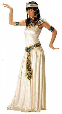 Become Cleopatra the queen of the nile in this deluxe Cleopatra fancy dress costume. Description from megafancydress.co.uk. I searched for this on bing.com/images