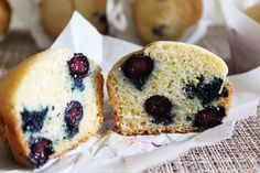 Eggless Blueberry Lemon Muffins Recipe