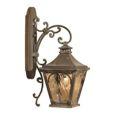 View the Elk Lighting 5710-C Camden 1 Light 20.5 Inch Tall Outdoor Wall Sconce at LightingDirect.com.