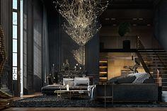 Paris apartment. on Behance