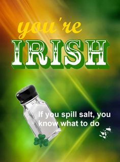 You are Irish if .....from If You're Irish, Come into the Parlour