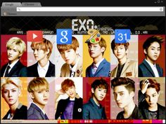 L U H A N 贰 Exo Themes Pinterest Exo And Chrome