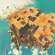 ArtStation - User generated island, Debbie Tsoi