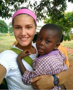 #MMissoni #Orphanaid #Africa Margherita Missoni children Ghana