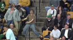 Celtics Fan Steals the Show