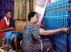 Africa   Akwete Traditional Weaving. Nigeria   ©Muyiwa Osifuye