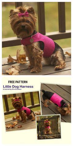 DIY Fabric Dog Harness Free Sewing Patterns | Fabric Art DIY