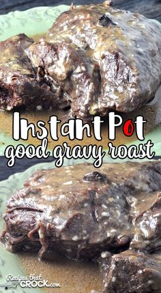 This Instant Pot Good Gravy Roast recipe can take that frozen roast in your freezer and have it fall apart tender in only 90 minutes of cooking! AND it has a good gravy! Instant Pressure Cooker, Best Pressure Cooker Recipes, Pressure Cooking, Crock Pot Cooking, Cooking Recipes, Crockpot Recipes, Chicken Recipes, Best Gravy Recipe, Roast Gravy