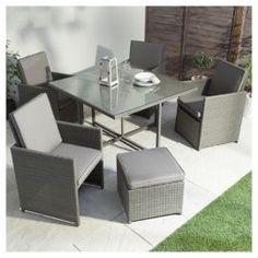 goodrick 6 seater set garden furniture pinterest furniture sets garden furniture and garden furniture sets