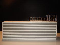 """"""" Ausstellungsraum auf dem Dach als Stahlkonstruktion """"   I Metall - geschweißt I"""