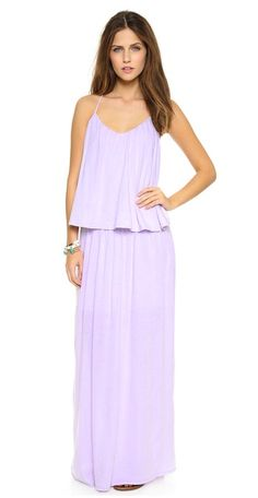 Three Dots maxi dress - pastel clothes on redsoledmomma.com