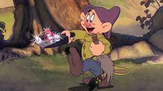 *DOPEY ~ Snow White and the Seven Dwarf's, at the mines. Aurora Disney, Rapunzel Disney, Walt Disney, Disney Love, Disney Magic, Disney Princesses, Disney And Dreamworks, Disney Pixar, Disney Characters