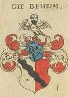 Stammwappen - Wappen der Familie von Beheim / Beheim Family Coat of Arms