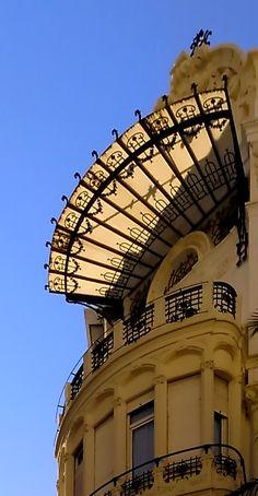 19th century building in #Valencia city centre