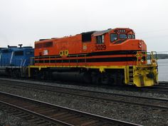 Ottawa Valley Railway (OVR) is a Canadian railroad that operates 150 miles (240 km) of track in the provinces of Ontario and Quebec, and is owned by Genesee & Wyoming Canada Inc., the Canadian subsidiary of Genesee & Wyoming Inc. OVR #3029 entering the CP Sudbury yard.