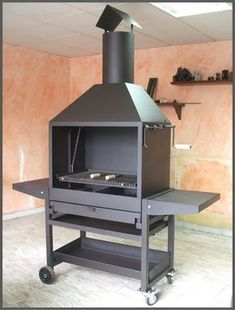 Barbecue Design 2020 – Can you use normal bricks for a BBQ - Home Ideas Grill Diy, Patio Grill, Barbecue Grill, Design Barbecue, Grill Design, Built In Braai, Built In Grill, Fire Pit Grill, Fire Pit Backyard