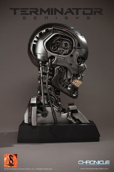 Terminator Genisys Skull
