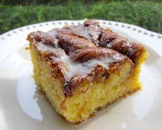 Honey Bun Cake...super easy recipe
