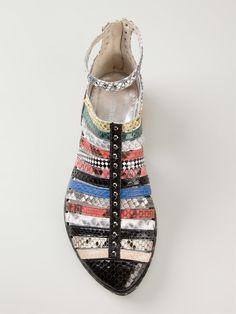 Wunderkind Multi Print Strappy Sandals - Jean Pierre Bua - Farfetch.com