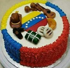 Me encantaaaa... Chef Cake, Fiesta Cake, Venezuelan Food, Best Food Ever, World Recipes, Cupcake Cakes, Cake Decorating, Bakery, Sweet Treats