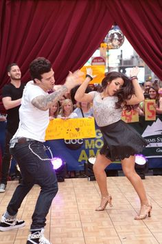 'DWTS' Finalists Join 'GMA' After Party