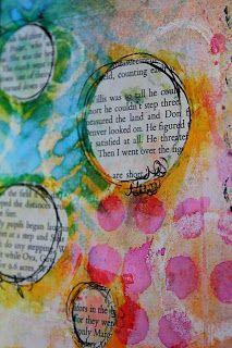 Art journaling: Atelier Dina Wakley