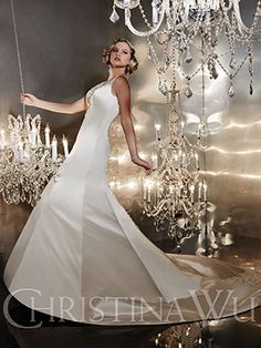 Christina Wu Bridal 15535 lace prom dresses sexy prom dresses affordable prom dresses 2014 prom dresses lace bridal gowns allure trunk show Allure Wedding Gowns, Wedding Dresses Photos, Wedding Dress Styles, Wedding Outfits, Bridal Gown Styles, Bridal Style, Bridal Gowns, Christina Wu, V Neck Wedding Dress