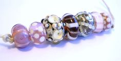 TUSCANY - Julie Wong Sontag - Uglibeads #lampwork #beads - Buy now on Etsy! $34.00