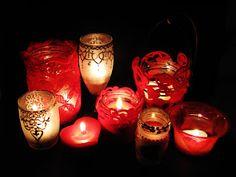 Pomysły plastyczne dla każdego DiY - Joanna Wajdenfeld: Walentynkowe świece i lampiony