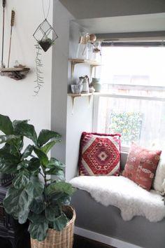 cozy kitchen nook