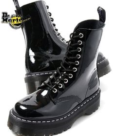 Dr. Martens Aggy in patent black leather