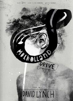 Mulholland Drive Polish Poster inspired by film film, USA director: David Lynch actors: Naomi Watts, Laura Harring Original Polish poster designer: Marcelina Amelia yea David Lynch, Mulholland Drive, Film Poster Design, Movie Poster Art, Film Movie, Twin Peaks, Elephant Man, Drive Poster, Polish Posters